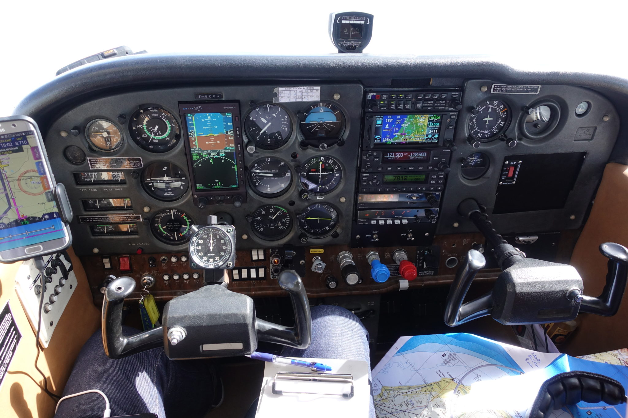 VFR flight in Morocco and Spain with Cessna 172   Airtrips